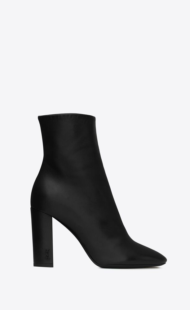 lou ankle boots in leather