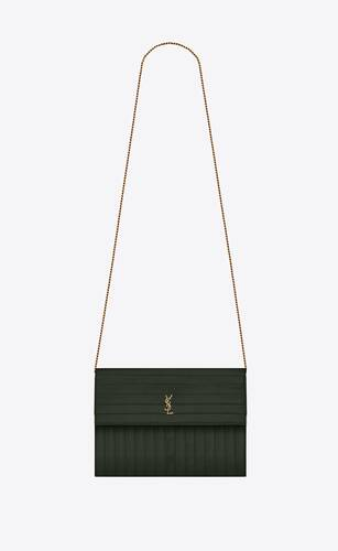 victoire chain bag in crinkled leather