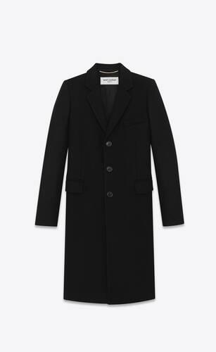 manteau chesterfield en laine