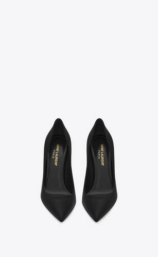 anja pumps in leather