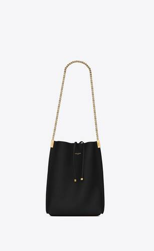suzanne small shopping bag en cuir lisse
