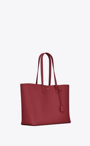 shopping bag saint laurent e/w in morbida pelle