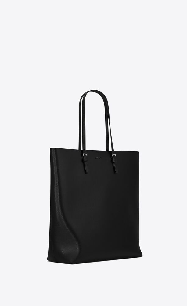 tote bag in coated embossed leather