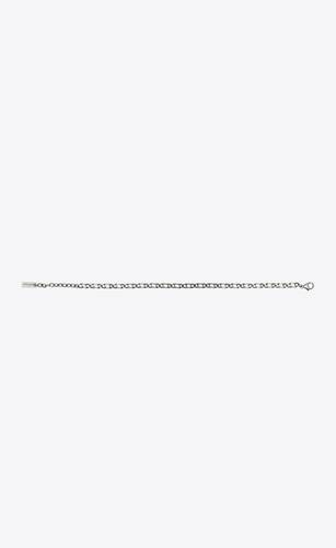 figaro-chain bracelet in metal