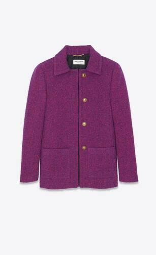 jacket in bouclé lurex