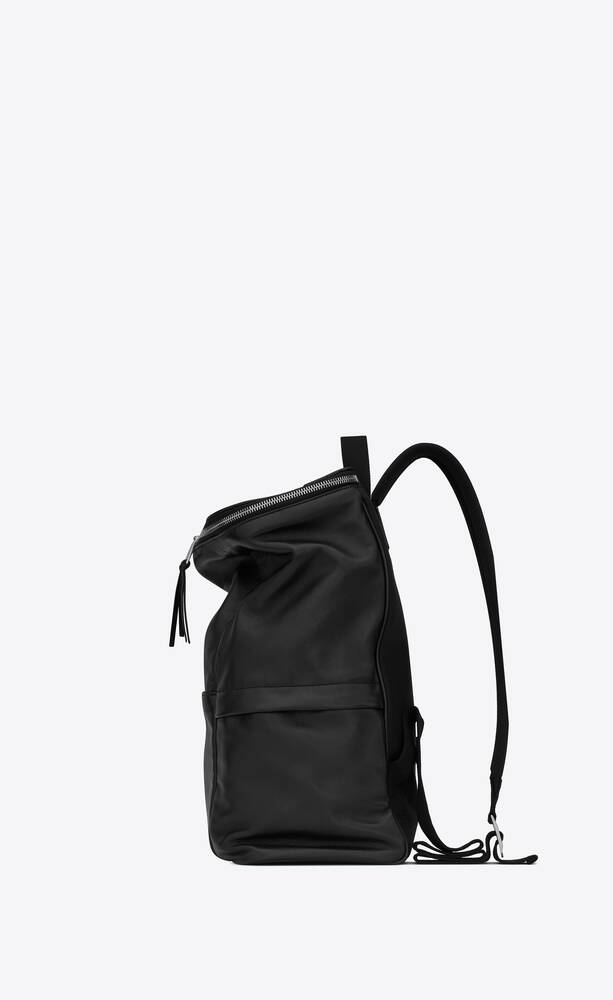 sid backpack in antiqued lambskin