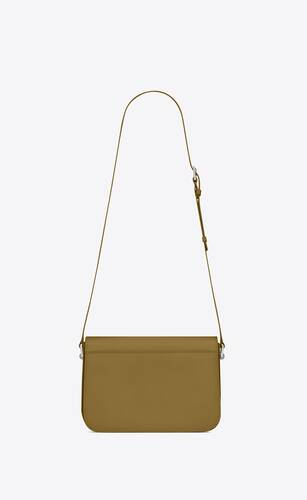 le pavé satchel in smooth leather