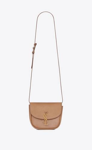kaia small satchel en cuir lisse vintage