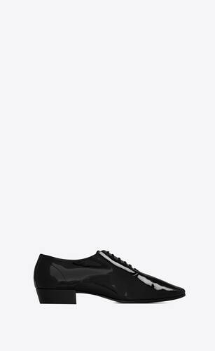 marius oxford shoes in patent leather
