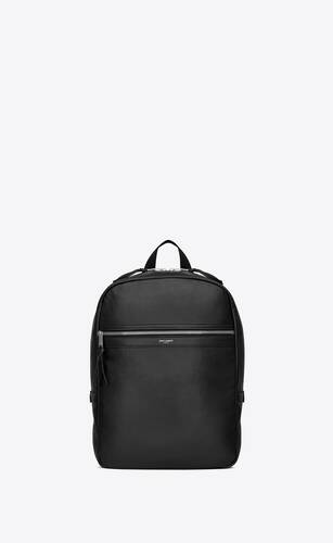 laptop city backpack in smooth leather