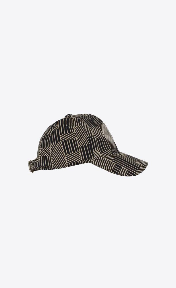 labyrinth baseball cap in velvet