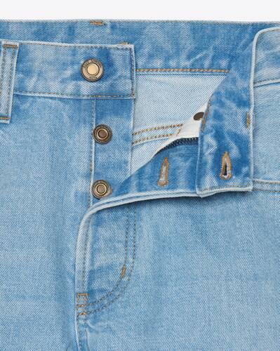 authentic jeans in basic blue denim