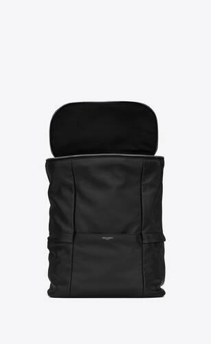 sid backpack in antiqued lambskin