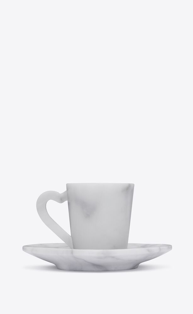 coffee set in marble