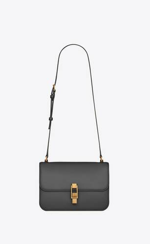 borsa satchel le carre in pelle box saint laurent