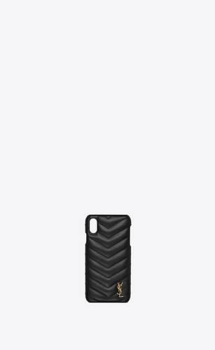 モノグラム iphone xs maxケース(キルティングレザー)