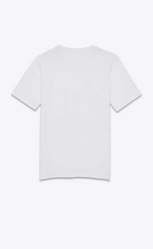saint laurent logo t-shirt