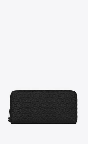 le monogramme zip-around wallet in embossed leather