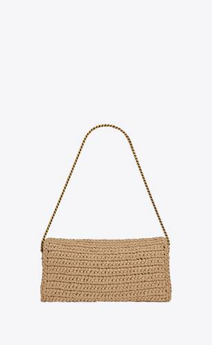 kate 99 with tassel in raffia and leather