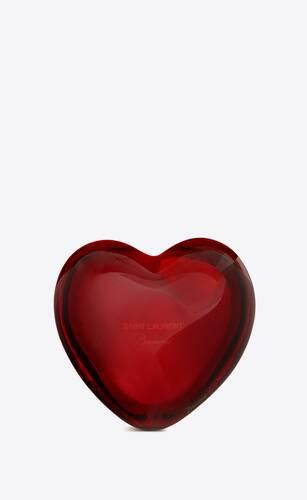 baccarat cœur en cristal
