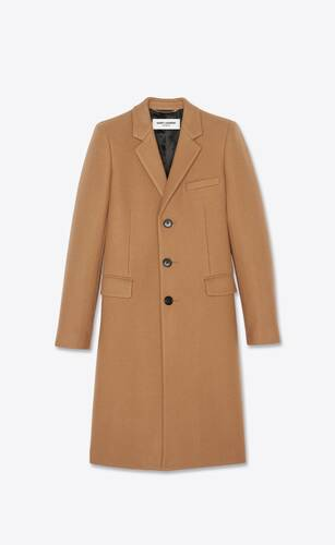tailored coat in cashmere