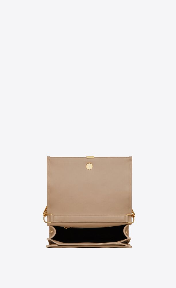 becky mini chain bag in le carré-quilted lambskin
