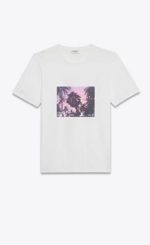 t-shirt sunset vhs