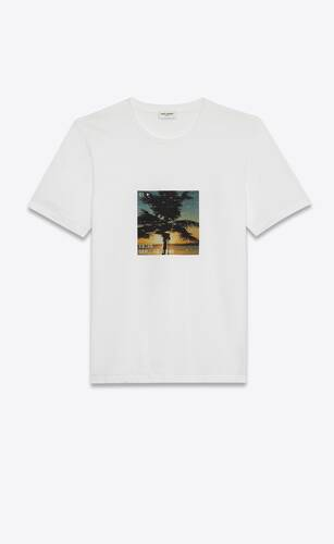 t-shirt sunset vhs