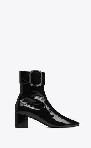 joplin booties in patent leather