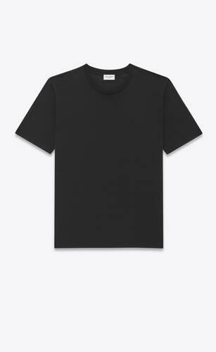 monogram t-shirt aus seide und wolle