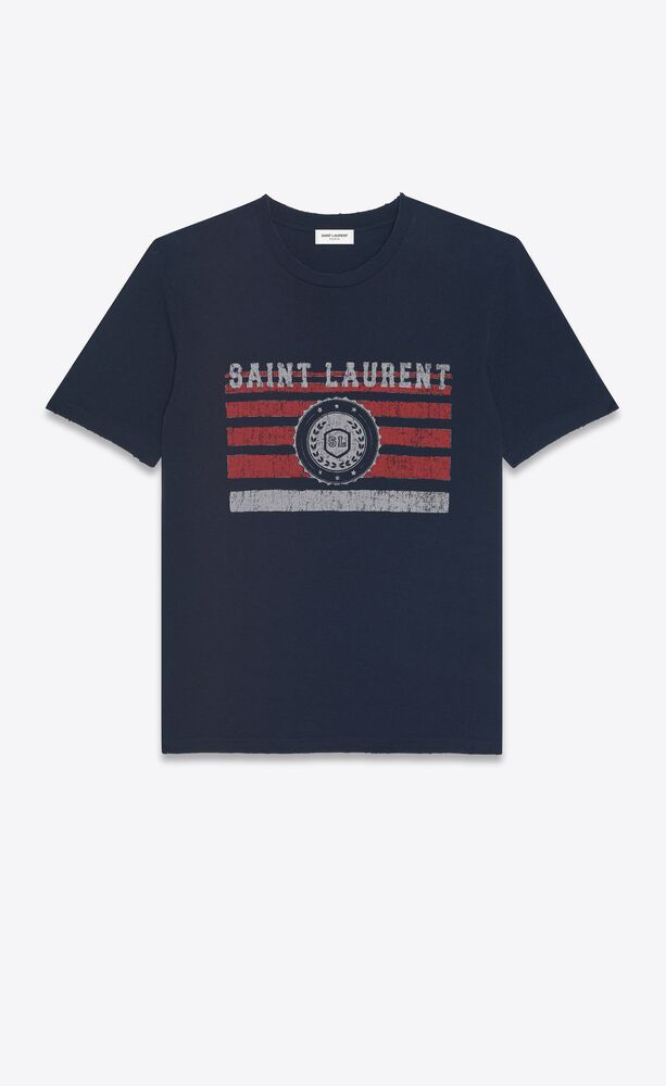 """""""saint laurent league"""" t-shirt"""