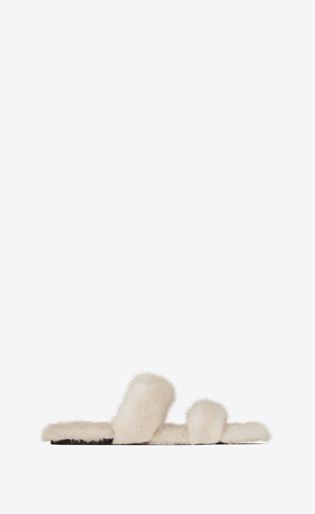 sandalias bleach de visón