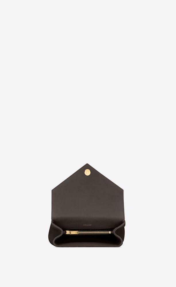 college sac medium en cuir matelassé