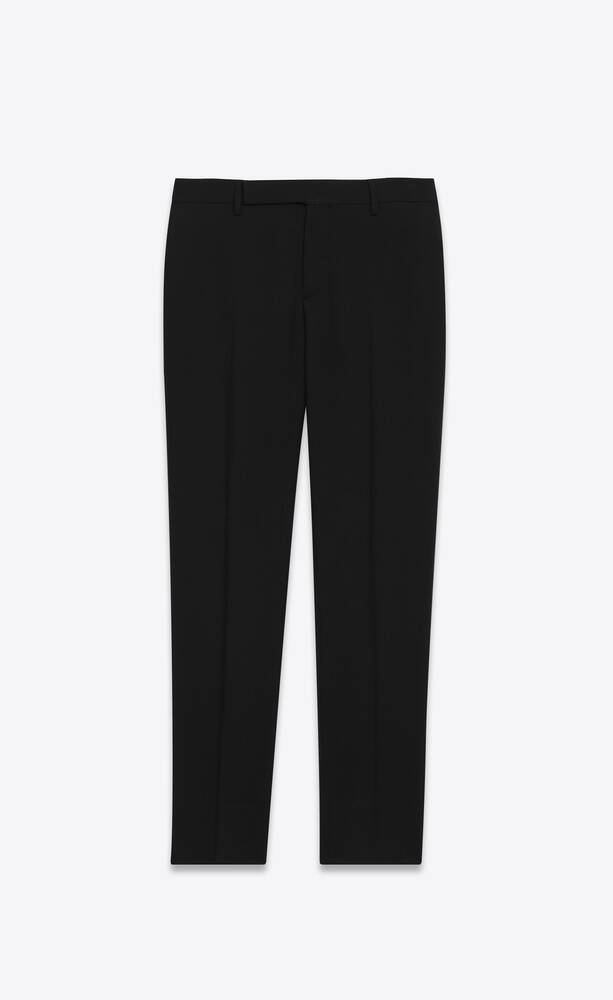 tailored pants in gabardine saint laurent