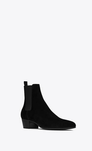 joey chelsea boots in suede