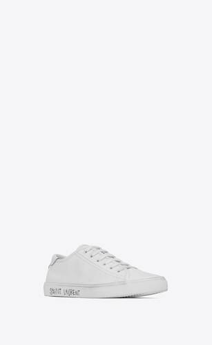 malibu sneakers in smooth leather