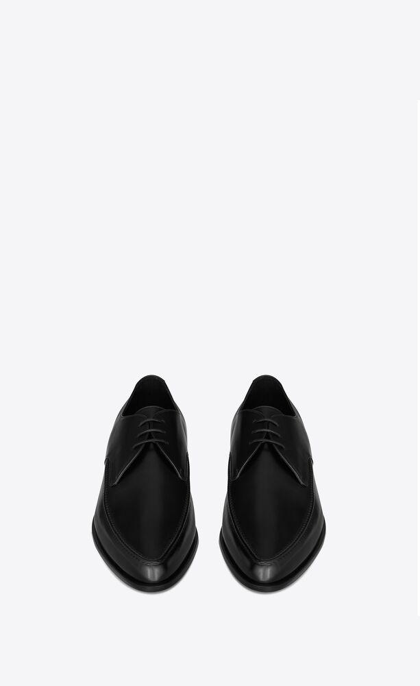 marceau derbies in smooth leather