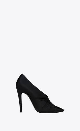 indya pumps in smooth leather