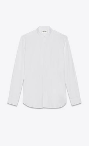 camisa de popelina de algodón