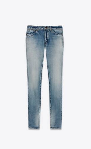 jean skinny bright blue