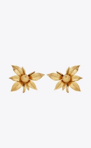 boucles d'oreilles fruit en métal