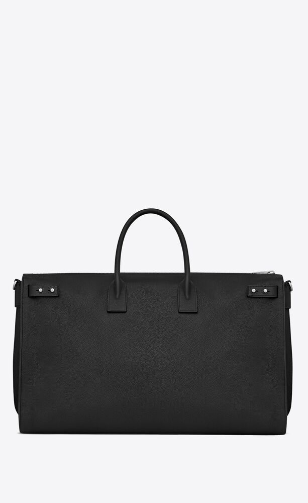 sac de jour 72h duffle bag in grained leather