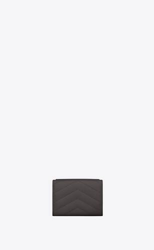 monogram tiny wallet in grain de poudre embossed leather