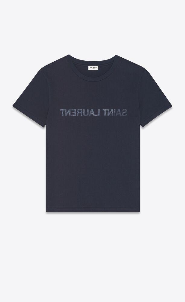 saint laurent reverse t-shirt