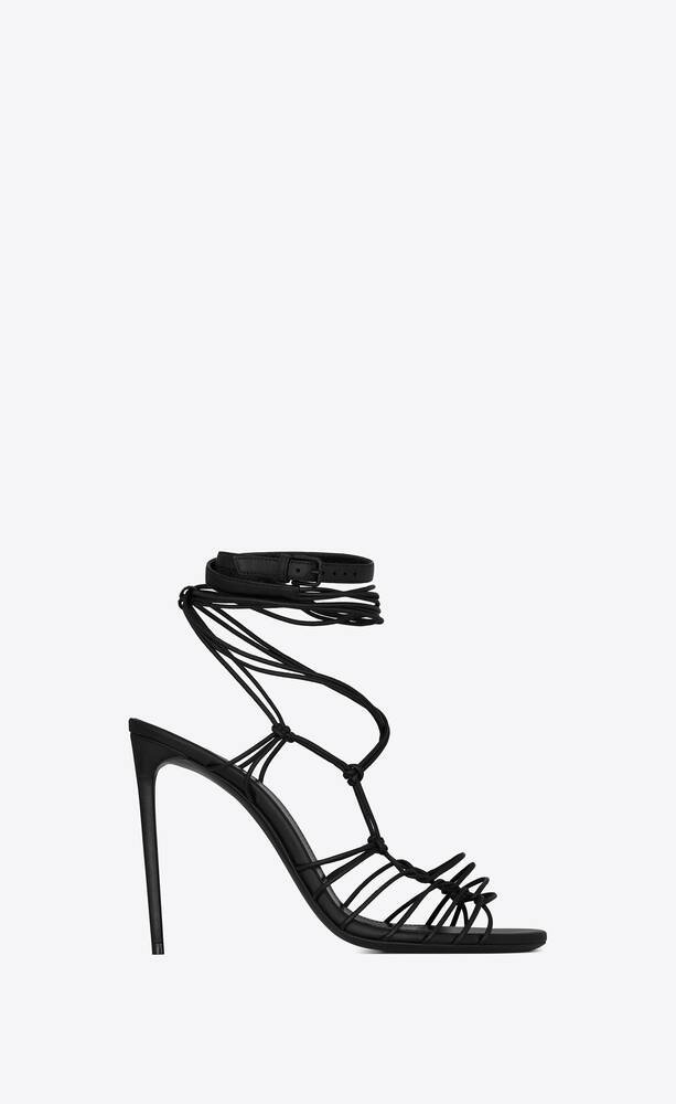 robin sandals in smooth leather