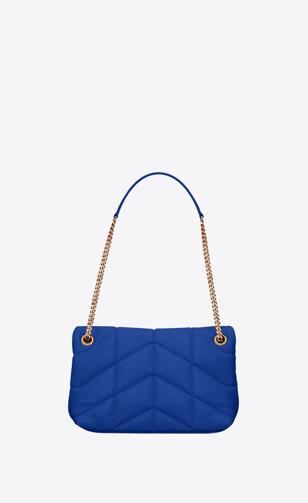 puffer small bag in quilted lambskin