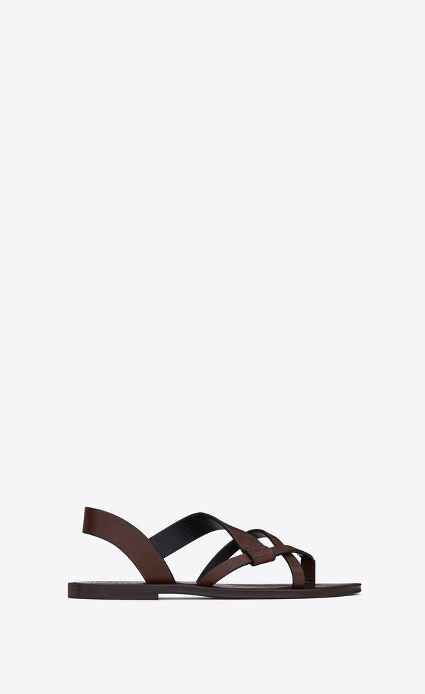 sandalias matt de piel lisa