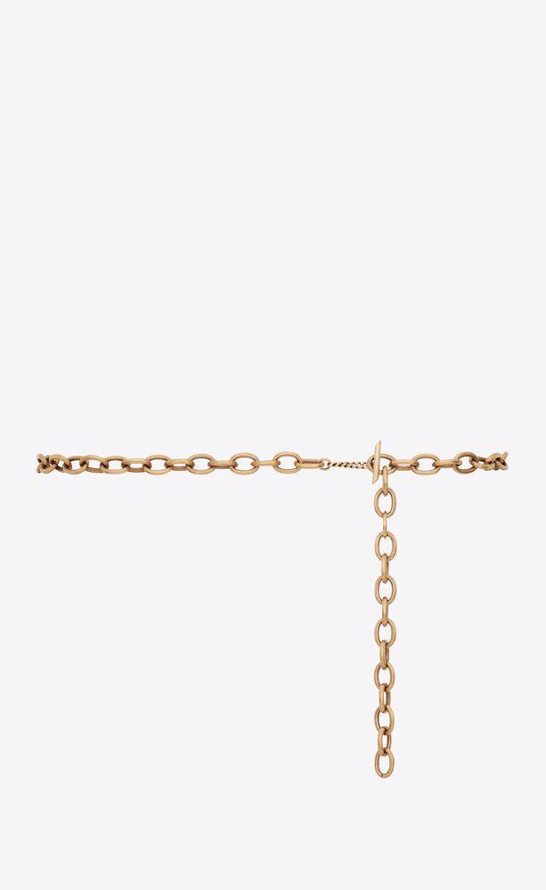 ceinture chaîne en métal
