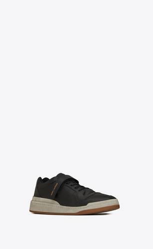 sl24 sneakers en cuir usé