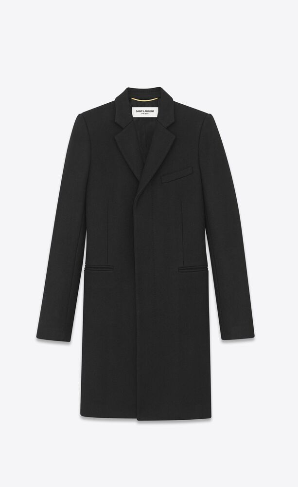 abrigo masculino de lana